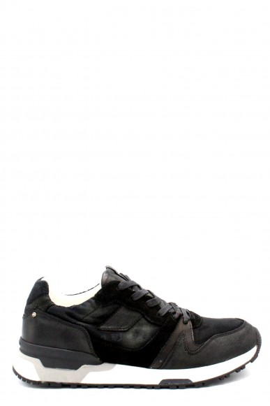 Crime Sneakers F.gomma 40-45 11408ks1.20 Uomo Nero Casual