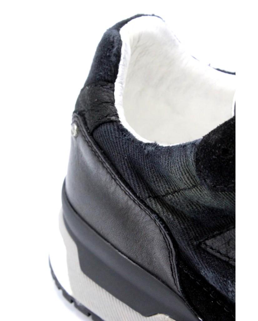 Crime london Sneakers F.gomma 40-45 11408ks1.20 Uomo Nero Casual