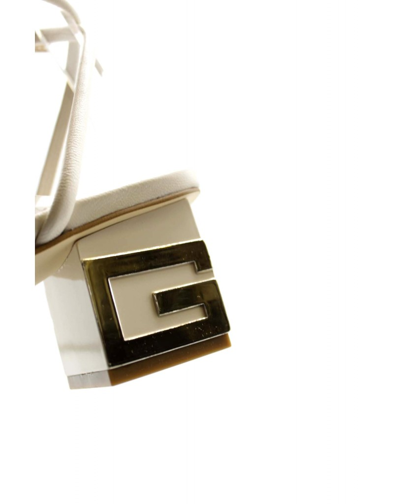 Guess Sandali F.gomma Macre/sandalo (sandal)/leather Donna Beige Fashion