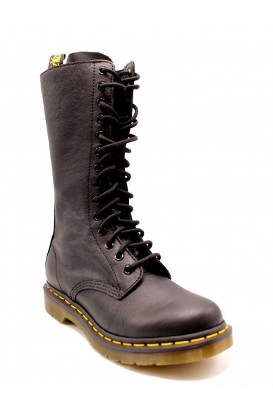Dr. martens Stivali F.gomma 1b99 virginia black Donna Nero Fashion