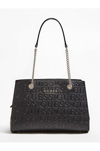 Guess Borse   Robyn girlfriend satchel Donna Nero Fashion