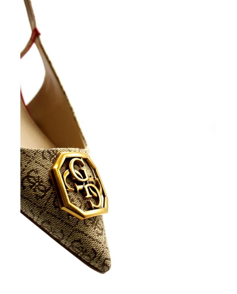 Guess Decollete F.gomma Jessena2/sandalo (sandal)/fabr Donna Beige Fashion
