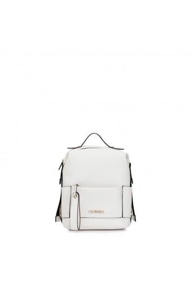 Cafe' noir Backpacks   Zaino morbido con tasca Donna Bianco Fashion