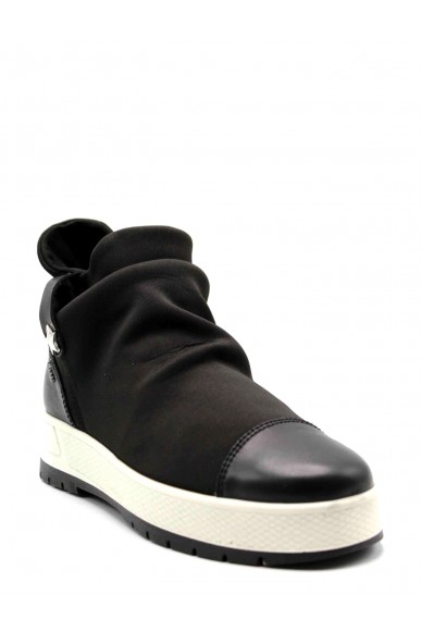 Igieco Sneakers F.gomma Tes.lycra stret Donna Nero Casual