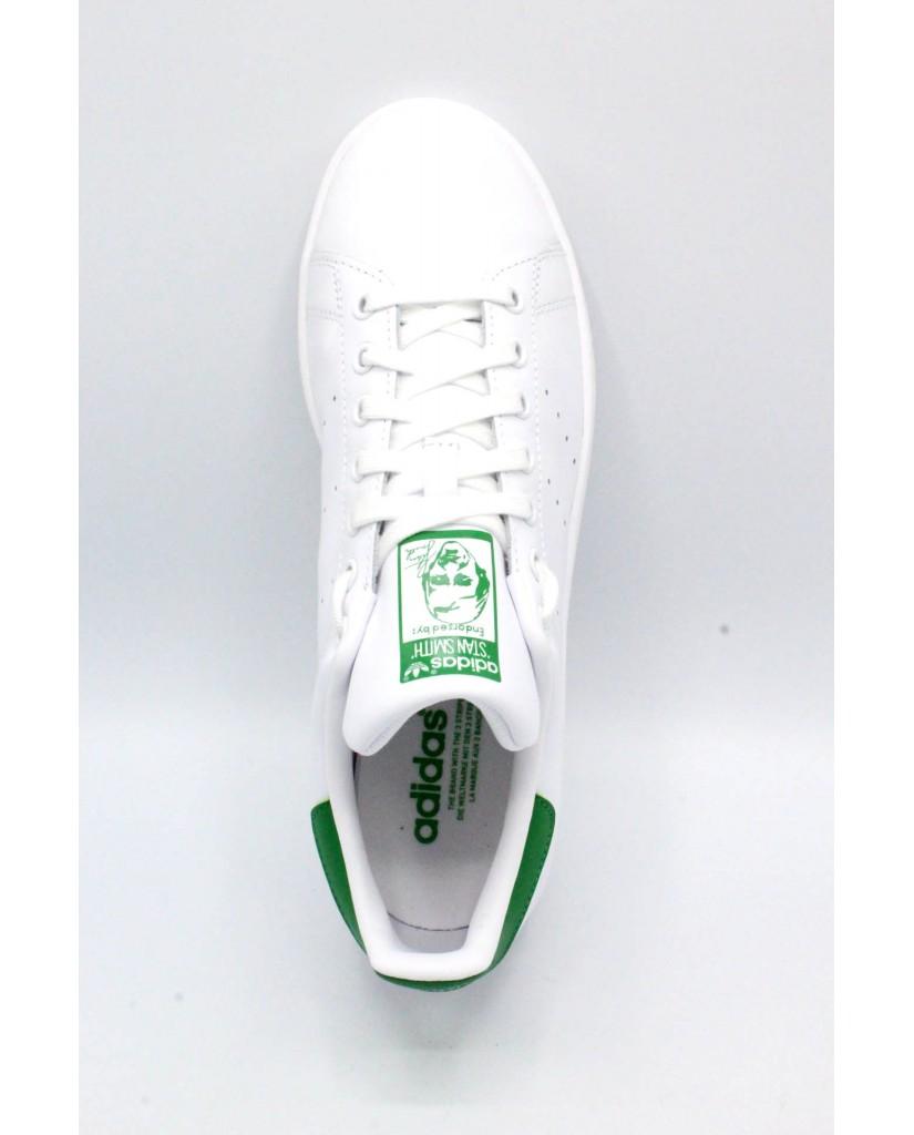 Adidas Sneakers F.gomma 39/46 stan smith Uomo Bianco-verde Sportivo