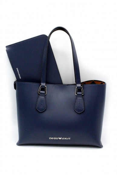 Emporio armani Borse - Shopping bag   y3d084 yh19e Donna Blu notte Fashion