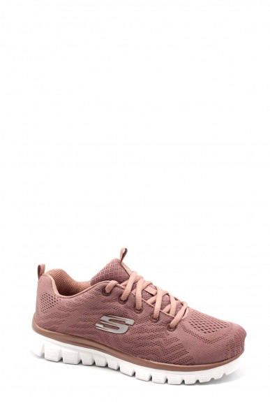 Skechers Sneakers F.gomma 36-41 12615 Donna Rosa Casual
