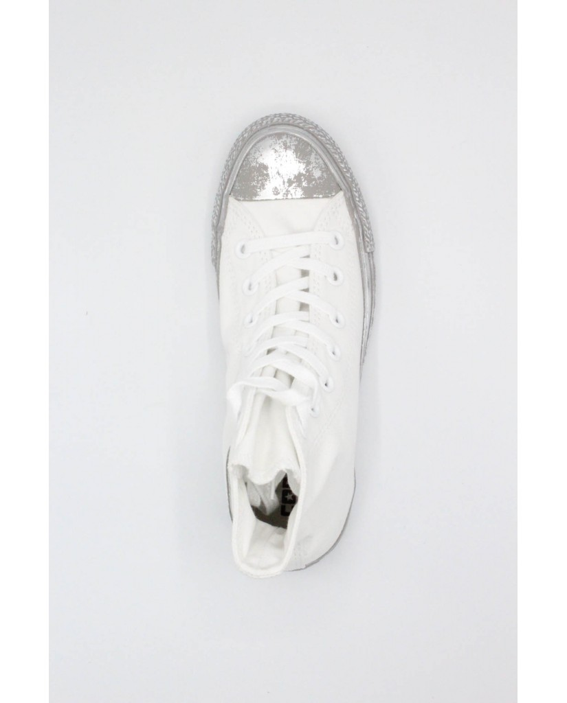 Converse Sneakers F.gomma 35/41 chuck taylors special Donna Bianco-argento Sportivo