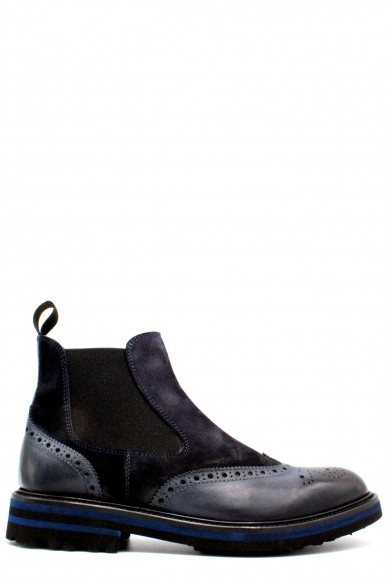 Brecos Beatles F.gomma 40-45 made in italy Uomo Blu Fashion