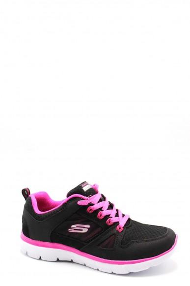Skechers Sneakers F.gomma 36-41 12997 Donna Grigio Casual
