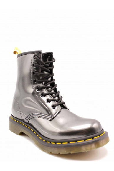 Dr. martens Stivaletti F.gomma 1460 vegan chrome gunmetal Donna Antracite Fashion