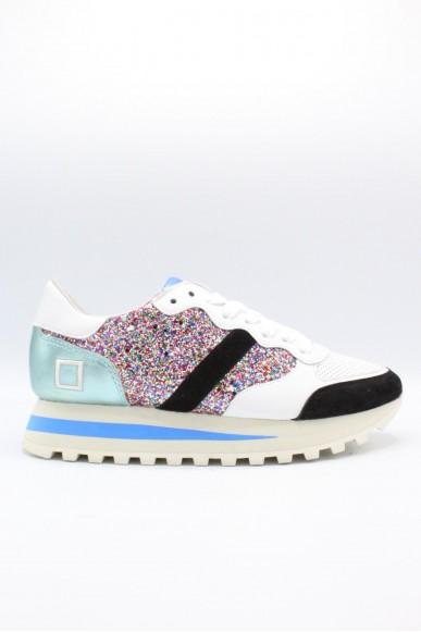 D.a.t.e.. Sneakers F.gomma 36-41 Donna Glitter multi Casual