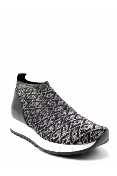 Liu.jo Slip-on F.gomma Gigi 04 - mid elastic sock silver Donna Argento Fashion