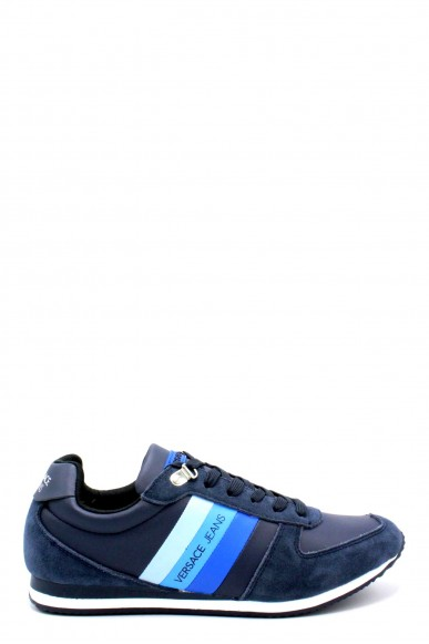 Versace jeans Sneakers F.gomma 40-45 Uomo Blu Casual