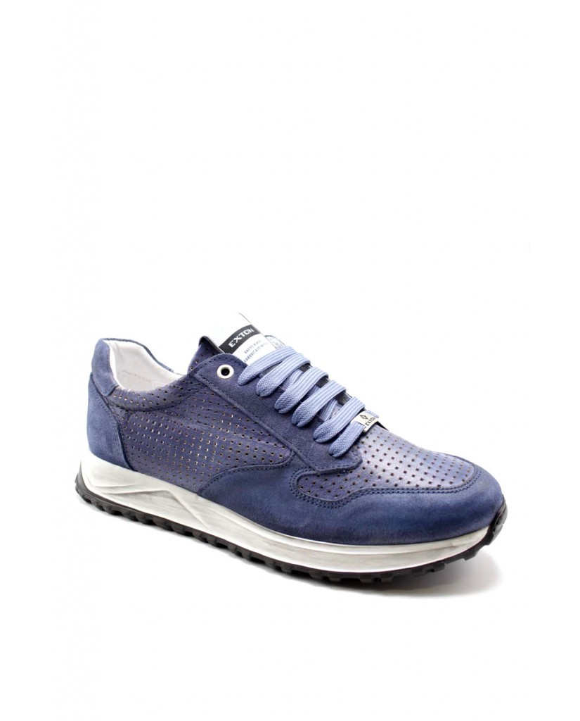Exton Sneakers F.gomma 40/45 751 made in italy Uomo Jeans Fashion