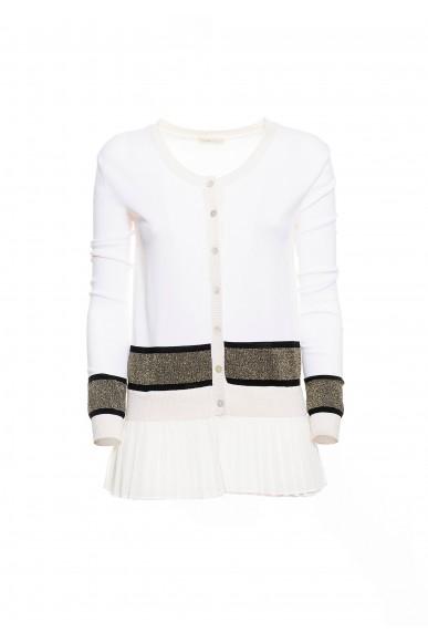 Fracomina Cardigan   Cardigan creamblack Donna Crema Fashion