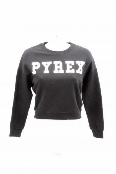 Pyrex Felpe   Donna Nero Fashion