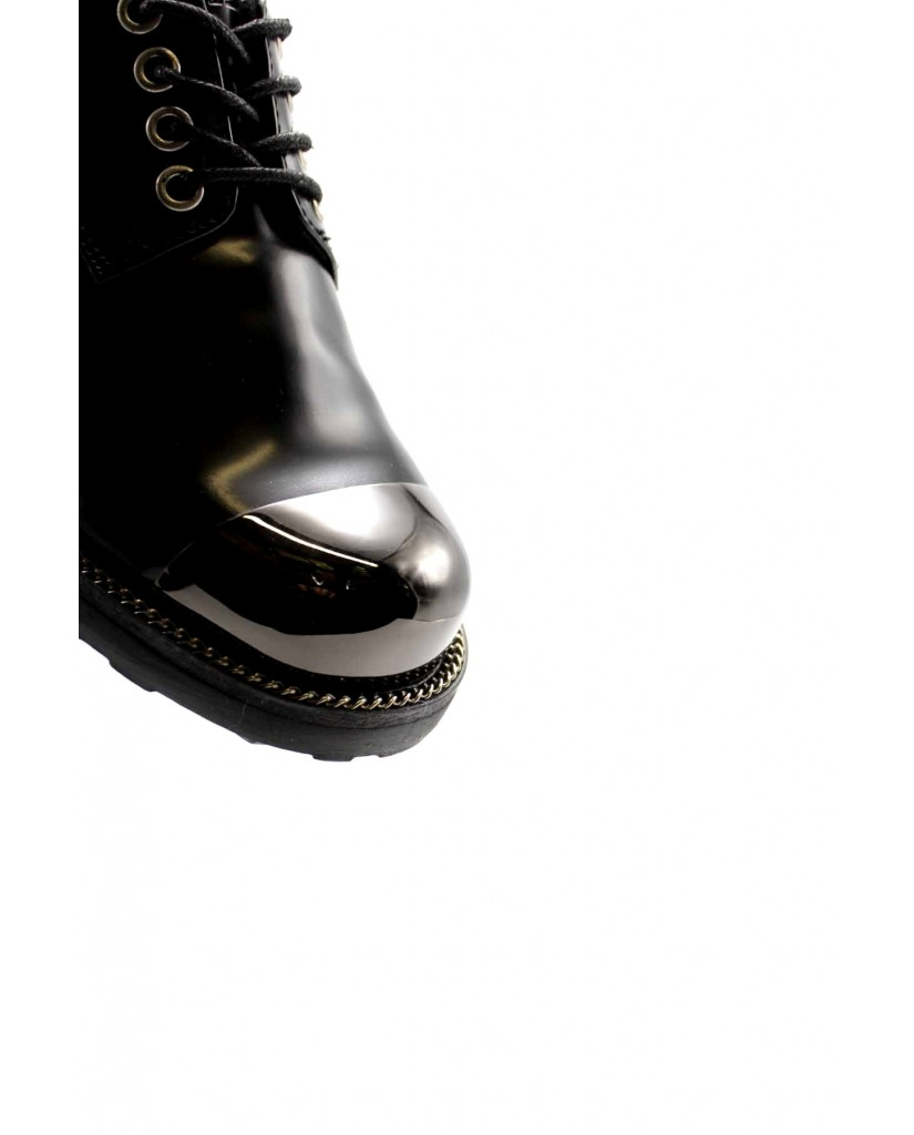 Cult Stringate   Zeppelin 3049 low w brushed leather Donna Nero Fashion