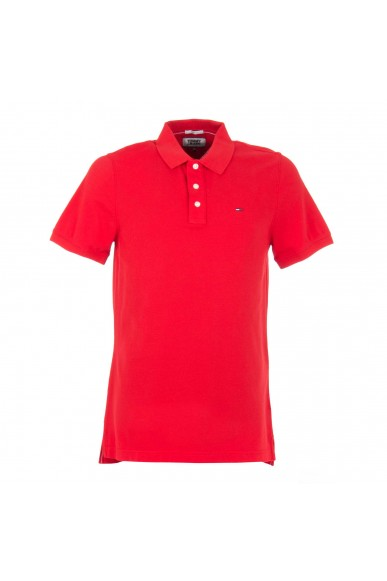 Tommy hilfiger Polo Uomo Rosso Casual