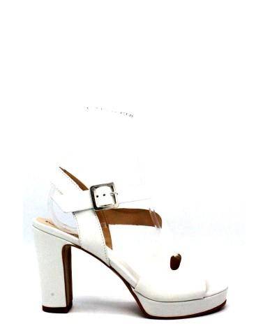 Mally Sandali 36-40 line sibio made in italy Donna Bianco Fashion