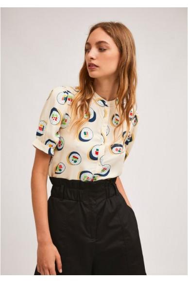 Compagnia fantastica Camicie   Sp21han03 Donna Bianco Fashion