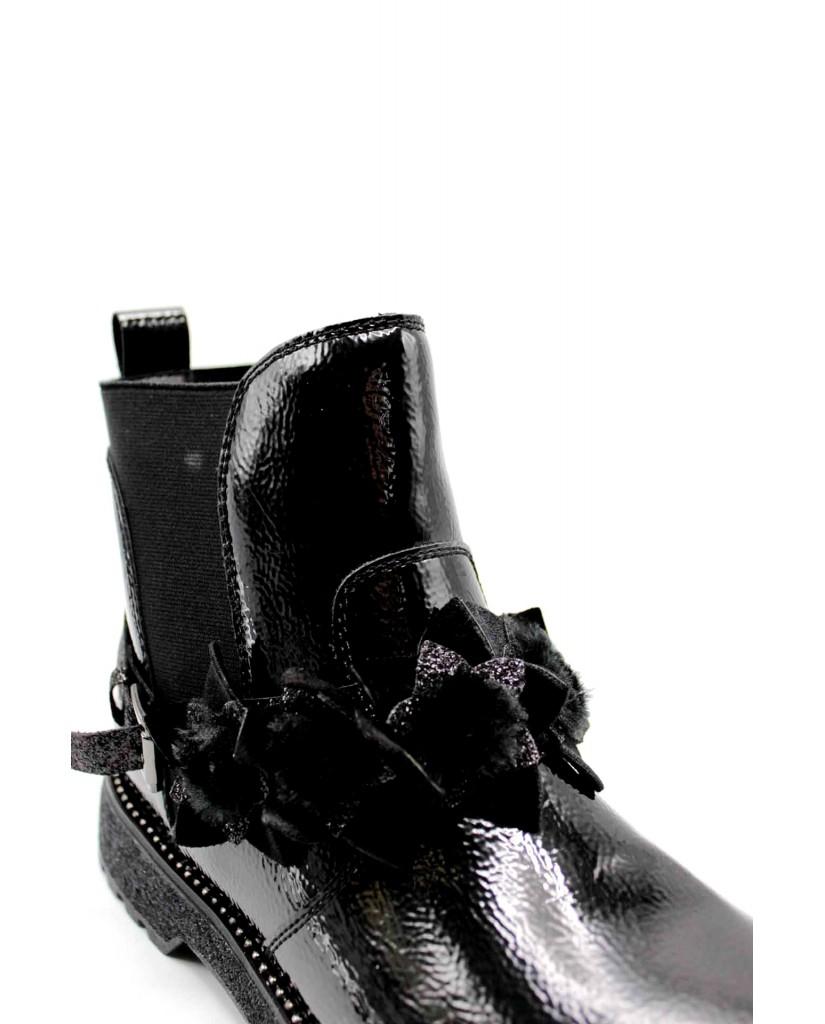 Cafe' noir Beatles F.gomma Beatles cavigliera removibile Donna Nero Fashion
