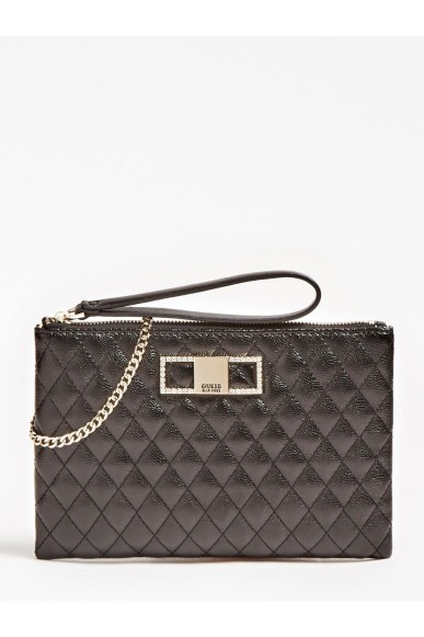 Guess Tracolle   Dinner date crossbody top zip Donna Nero Fashion