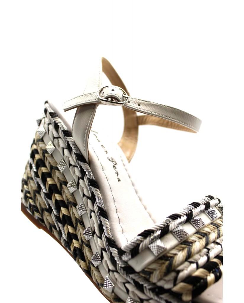 Alma en pena Sandali F.gomma Donna Bianco Fashion