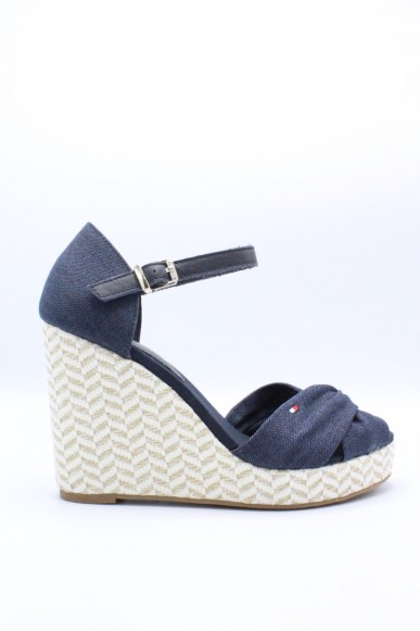 Tommy hilfiger Sandali F.gomma 36/41 Donna Midnight Fashion