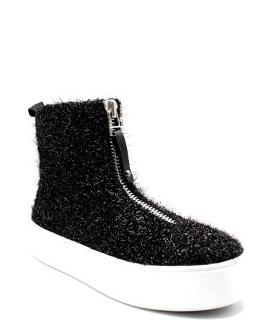 Apepazza Sneakers F.gomma Imbra Donna Nero Fashion