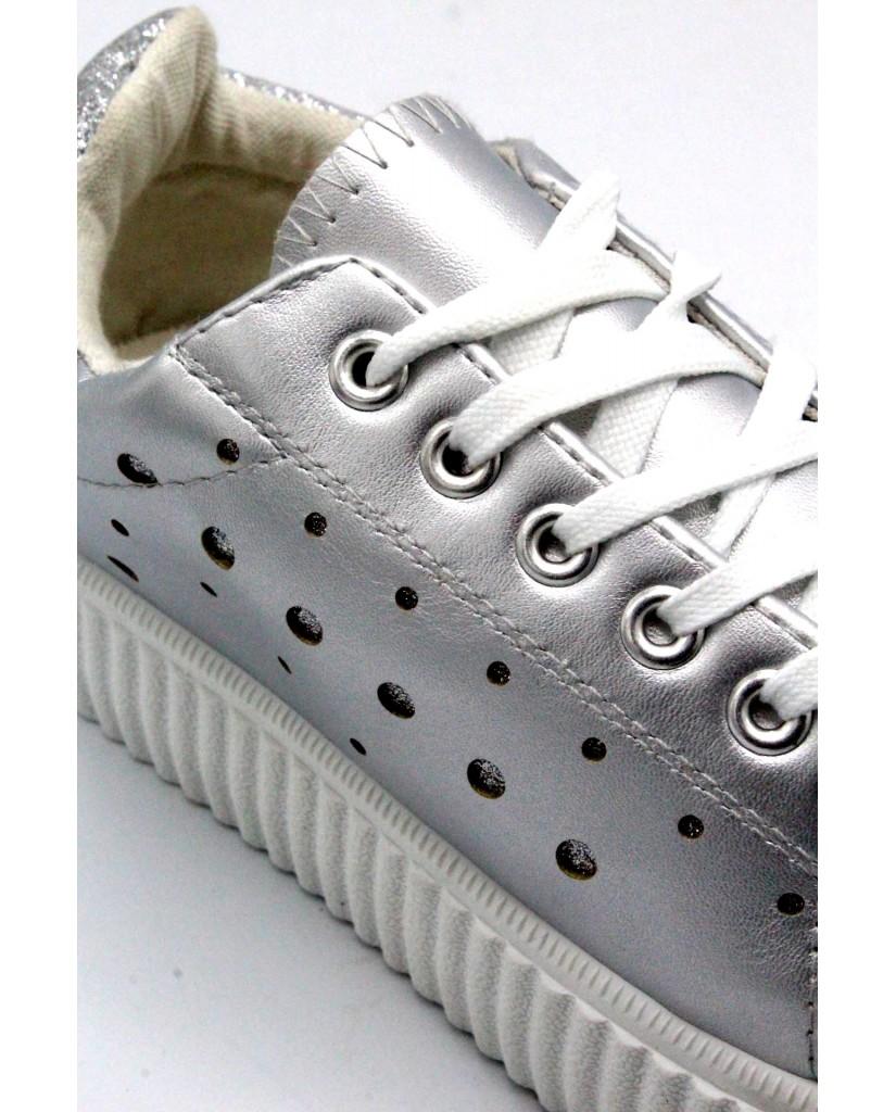 Energi Sneakers F.gomma 36/41 6 Donna Argento Fashion