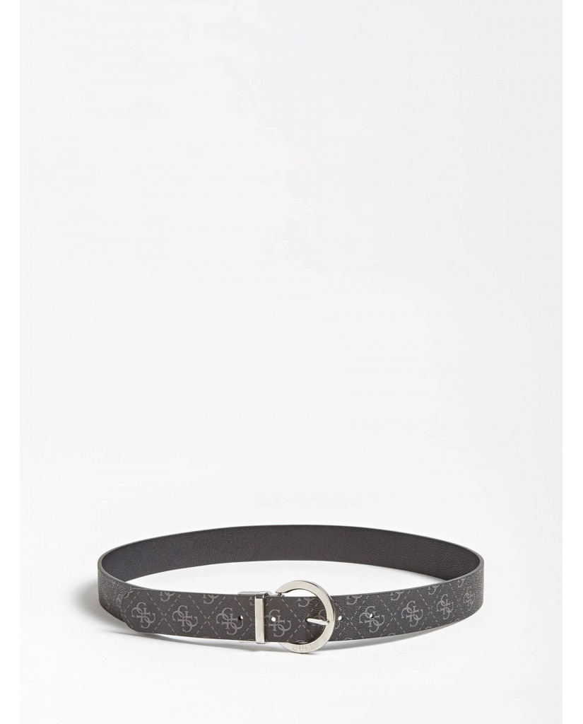 Guess Cinture   Esme rev&adjustble pant belt Donna Grigio Fashion