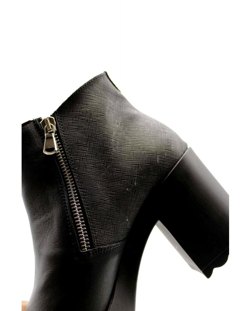 1^classe  Tronchetti F.gomma Tronchetto h85 Donna Nero Fashion
