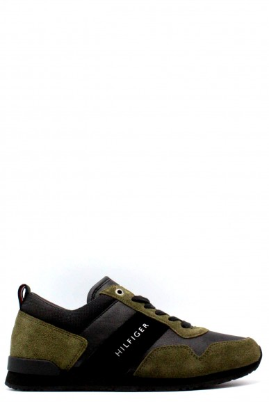 Tommy hilfiger Sneakers   40-45 maxwell 11c5 Uomo Verde-nero Casual