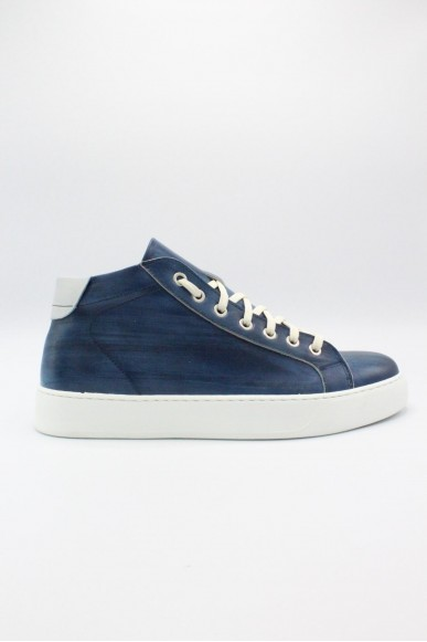 Exton Sneakers F.gomma 40-45 made in italy Uomo Blu Casual