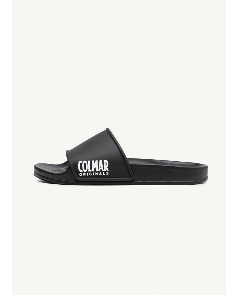 Colmar Sandali F.gomma Slipper plain Uomo Nero Fashion