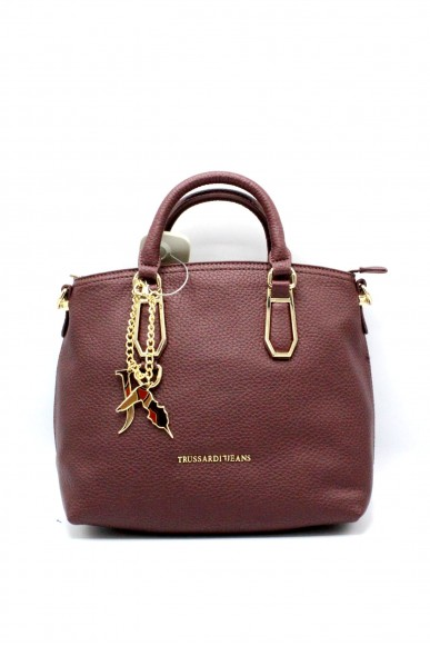 Trussardi Borse - Carrie ecoleather smooth shopping bag Donna Bord