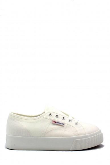 Superga Sneakers F.gomma 35/41 2730 cotu Donna Bianco Sportivo