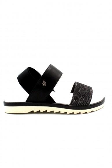 Armani jeans Sandali F.gomma 36/41 Donna Nero Fashion