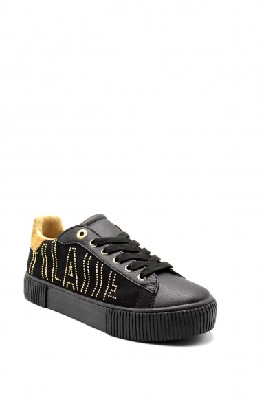 1^classe  Sneakers F.gomma In06870208 Donna Nero Fashion
