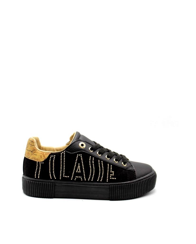 1^classe  Sneakers F.gomma In06870208 Donna Nero Fashion