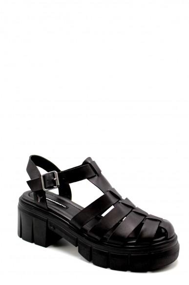 Windsor smith Sandali F.gomma Stefhanie Donna Nero Fashion