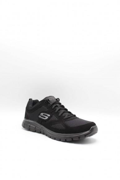 Skechers Sneakers F.gomma Burns- agoura Uomo Nero Sportivo