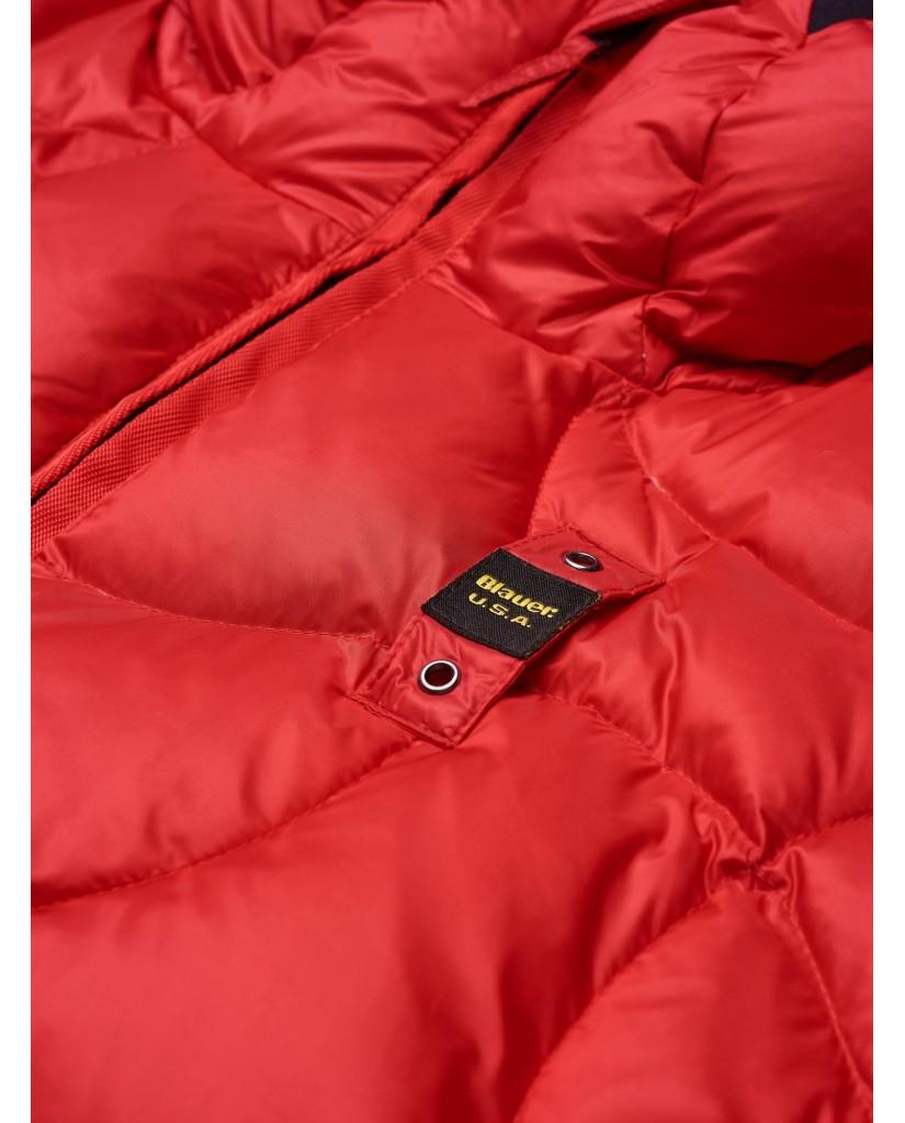 Blauer Giubbini 004398 Uomo Rosso Fashion