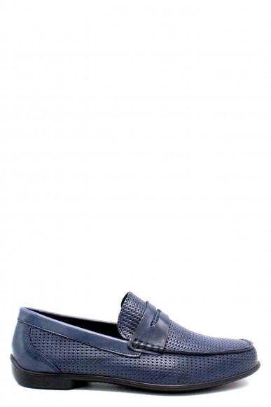 Igieco Mocassini F.gomma 1110322 made in italy Uomo Blu Fashion