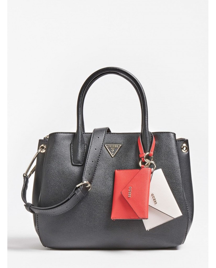 Guess Tracolle   Kirby girlfriend carryall Donna Nero Fashion