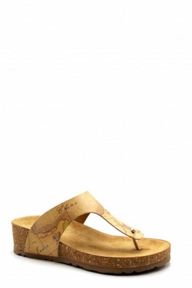 1^classe  Infradito F.gomma Ze654 Donna Beige Fashion