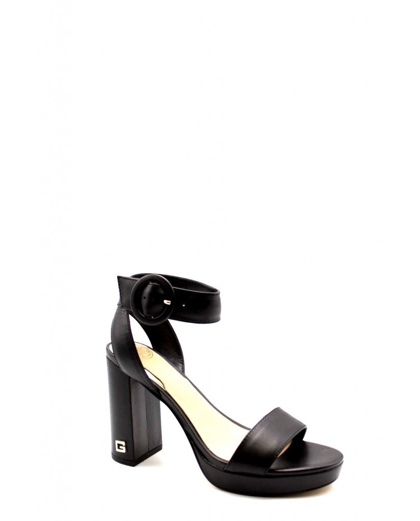 Guess Sandali F.gomma Brendy/sandalo (sandal)/leathe Donna Nero Fashion