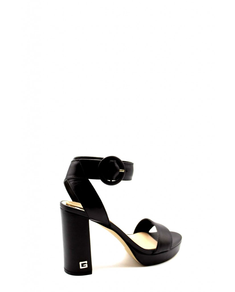 Guess Sandali F.gomma Brendy/sandalo (sandal)/leathe Donna Nero Fashion