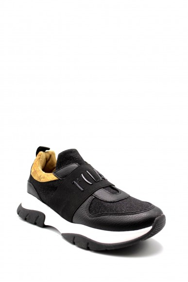 1^classe  Sneakers F.gomma In07030558 Donna Nero Fashion